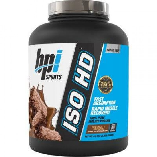 BPI Sports ISO HD Whey Isolate Protein- 2.26 Kg