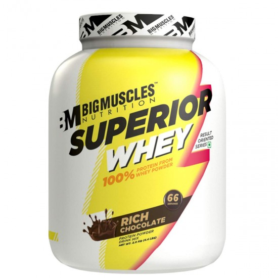 Bigmuscles Nutrition Superior Whey Protein 4.4 Lbs - 2 Kg