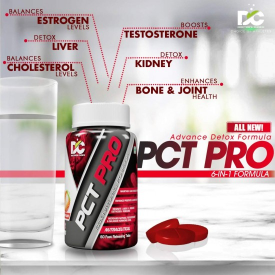 Doctor's Choice PCT PRO (Post Cycle Therapy Supplement - All In One) - 60 Tablets