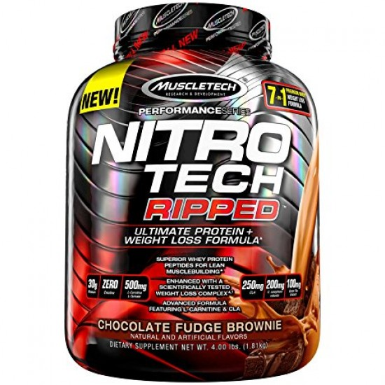 MuscleTech Performance Series NitroTech Ripped 4 Lb - 1.81 Kg