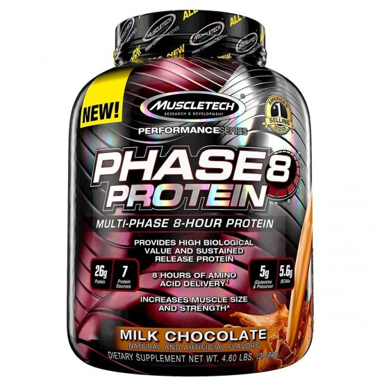 MuscleTech Performance Series Phase 8 Protein,  4.6 Lbs